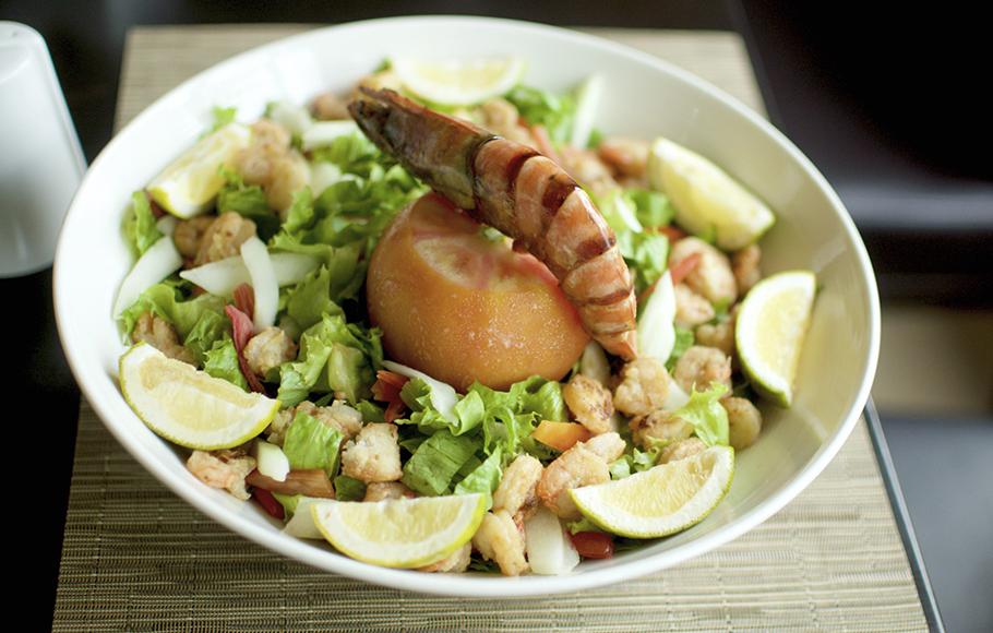 Seafood Dish Epe Resort