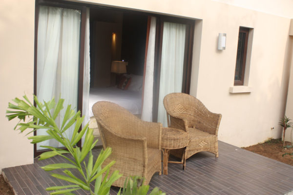 Deluxe Garden Room Balcony